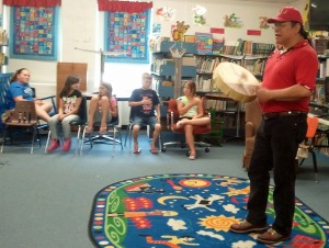 Artists in the Classroom - Resident Artist Cochise Anderson