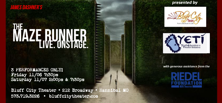 The Maze Runner live Onstage- Opens Tonight!