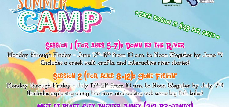 SUMMER CAMP REGISTRATION IS HERE, NOW!