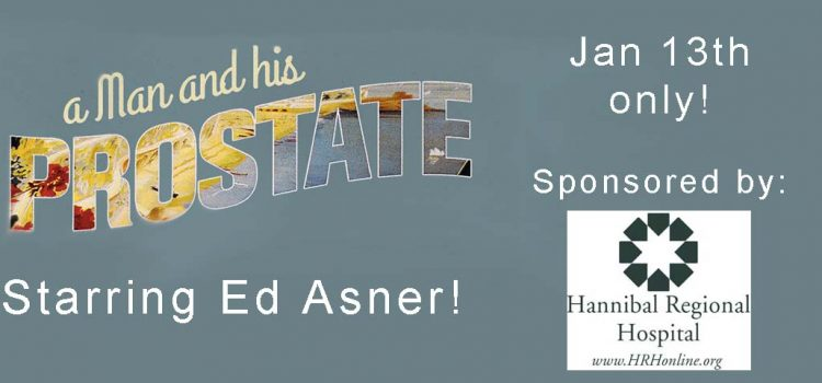Beat The January Blues-Ed Asner Brings His Comedy to Hannibal!