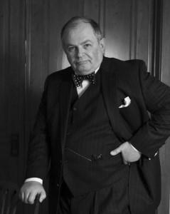 Andrew Edlin as Churchill
