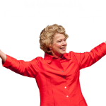 Susie Wall as Ruth Westheimer