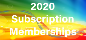 2020 Suscription Memberships