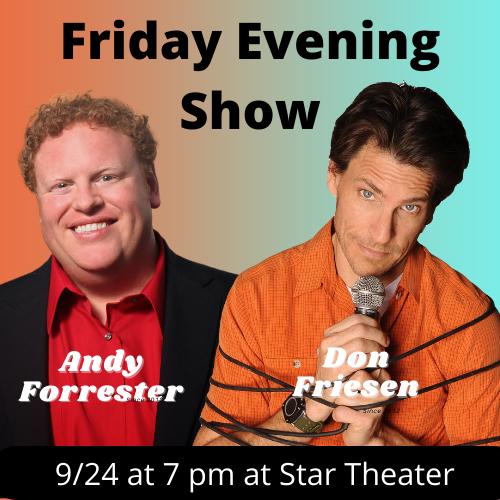 COTR Friday Evening Show