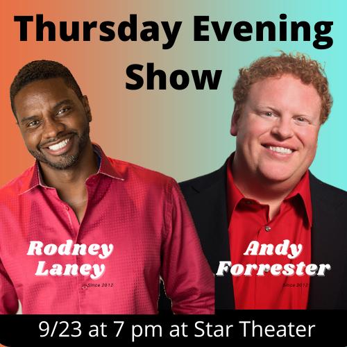 COTR Thursday Evening Show