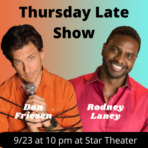 COTR Thursday Late Show